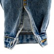 Stock Photo: Sleeve of denim jacket
