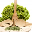 Fresh frizzy salad — Stock Photo