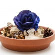 Stock Photo: Potpourri with rose