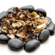 Stock Photo: Potpourri with natural stones