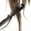 Hairpiece with comb — 图库照片