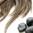 Hairpiece with stones — Foto Stock