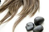 Haarstukje met stenen — Stockfoto