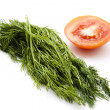 Fresh dill — Stock Photo #23346890