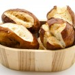 Lye bread rolls - Stock Photo