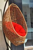 Кресло корзины — Стоковое фото
