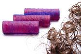Lås rulle med hår lås — Stockfoto
