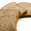 Wholemeal toast bread — Stock Photo