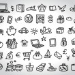 Stock Vector: Big set of icons