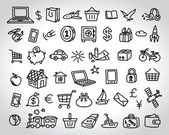 Big set of icons — Stock Vector