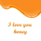 Honey background — Stockvektor