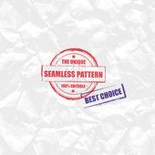 Crumpled paper texture — Stock Vector