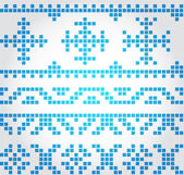 Winter pattern — Stock Vector