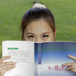 Stock Photo: Girl Student