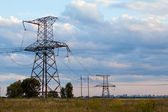 Energy Distribution Network — Stock Photo