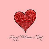 Valentine Greeting — Stock Vector