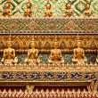 Ornament grand Palace in bangkok — Stockfoto