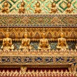 Ornament Grand Palace in Bangkok — 图库照片