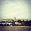 Buda castle — Stock Photo