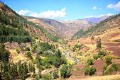 Mountain landscape in Peru — Stock Photo
