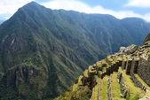 Inca terraces — Stock Photo