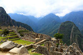 Ancient lost city Machu Picchu — Stock Photo