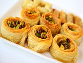 Arabic baklava — Stock Photo