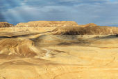 Landscapes of desert Negev — Stock Photo