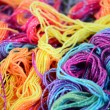 Background of bright yarn — Stock Photo