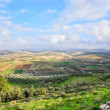 Israeli landscape — Stock Photo