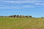 Israeli village — Stock Photo