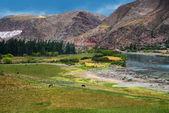 Urubamba River in Peru — Stock Photo