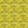 Seamless golden pattern — Stock Photo