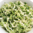Stock Photo: Summer coleslaw and greens