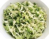 Verdi e insalata di cavolo estate — Foto Stock