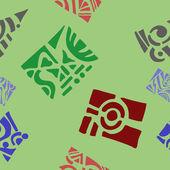Naadloze geometrische ornament patroon — Stockvector