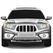 Crossover car — Stock Vector