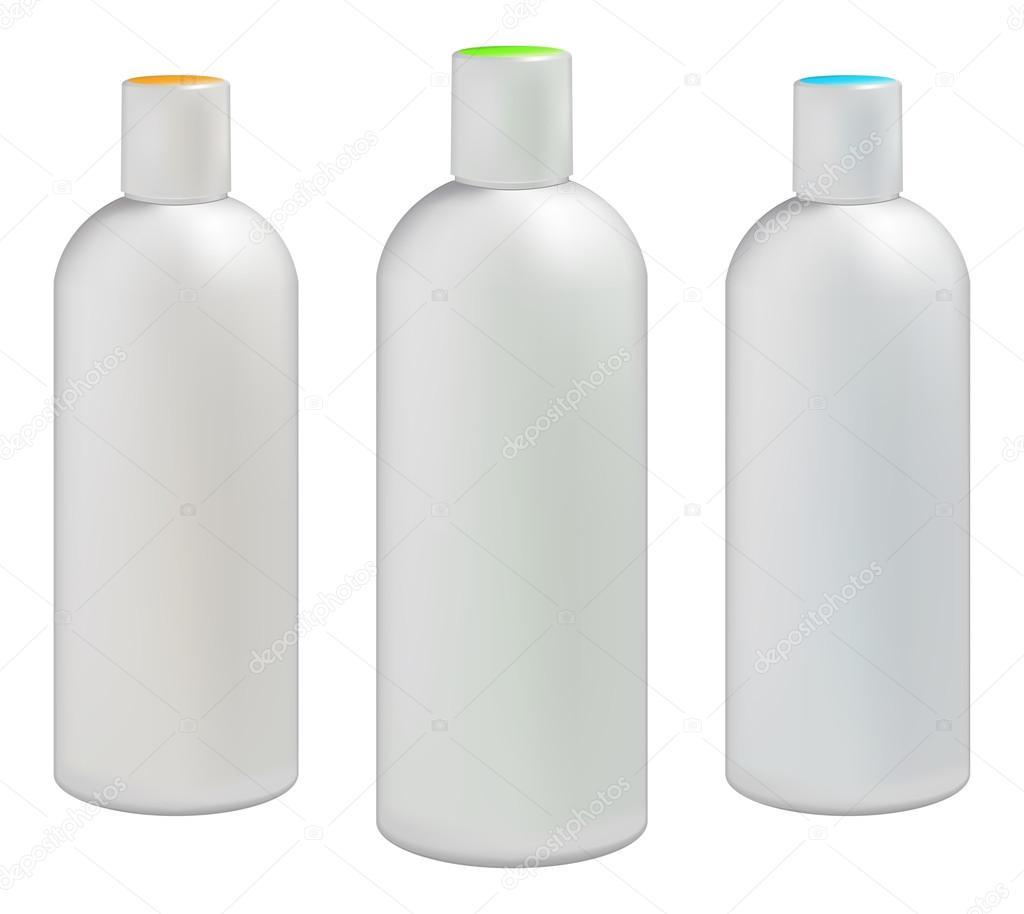 Plastic Bottle Vector Plastic bottles for cosmetic