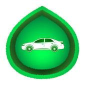 Eco Car Concept — Stock Vector
