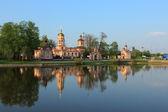 Temple de l'exaltation de la sainte-croix. moscou. russie — Photo
