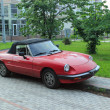 "Retro car Alfa Romeo Spider ""Aerodinamica"" — Stock Photo"