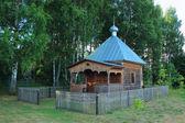 Kapellet tillägnad sankt nikolaus — Stockfoto