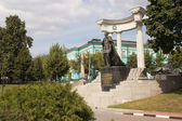 The monument to Alexander II in Moscow — Stock Photo