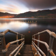 Loch Lomond Pier — Stock Photo