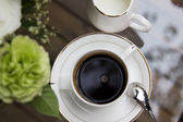 Freshly brewed coffee — Stock Photo