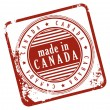 Made In Canada — Stock Vector