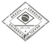 Brazil stamp — Stock Vector