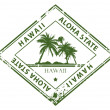 Royalty-Free Stock Vector Image: Hawaii stamp