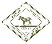 Kenya stamp — Stock Vector