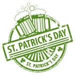St. Patrick's Day stamp — Stock Vector #12815905